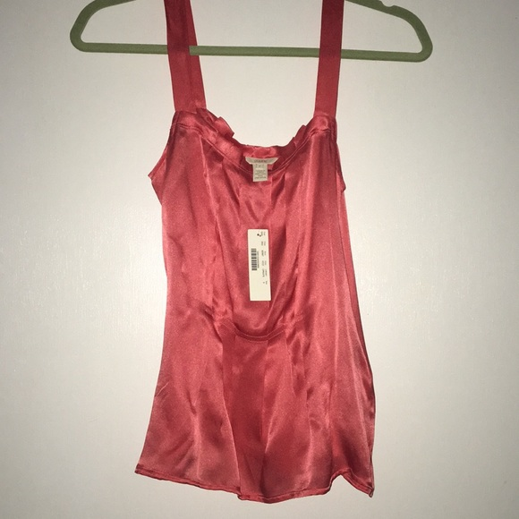 J. Crew Tops - New with tags - Jcrew 100% silk top - size 0
